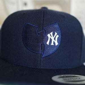 Wu Tang Clan New York Yankees Snapback Hat